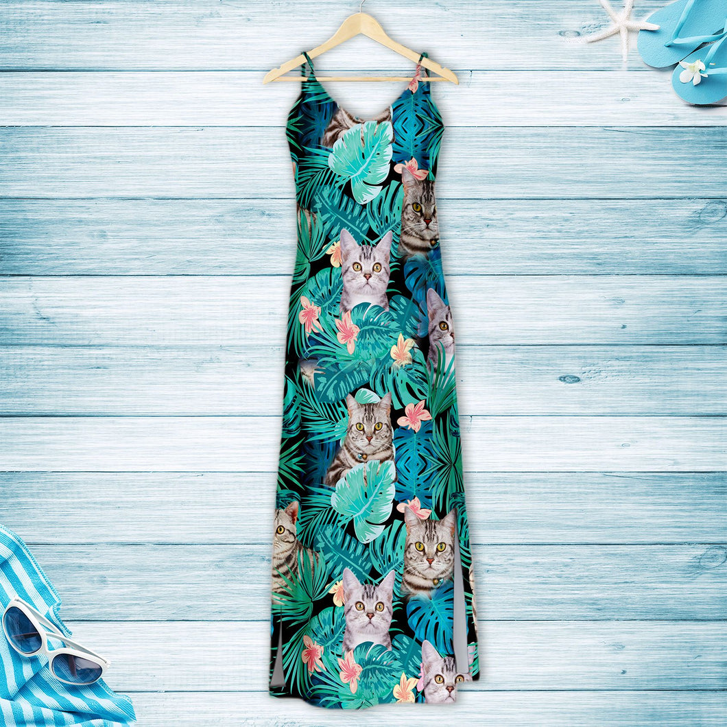 Tropical American Shorthair G5716 - Hawaii Dress