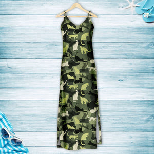Cat Camo H167067 - Hawaiian Dress