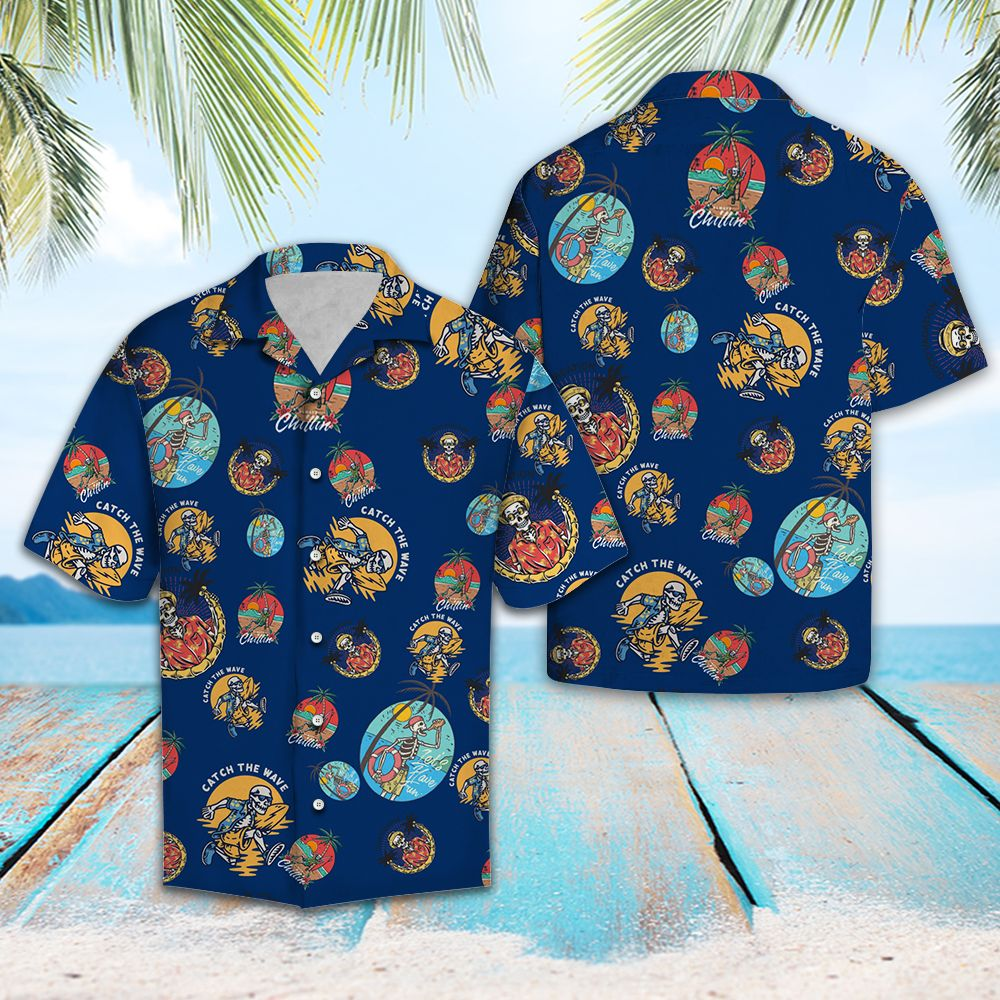 Skull Ready for Summer TG5717 - Hawaiian Shirt