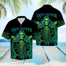 Load image into Gallery viewer, Skull Grim Reefer TY2107 - Hawaiian Shirt