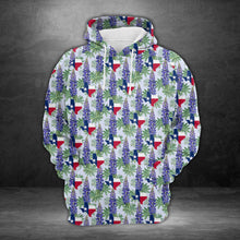 Load image into Gallery viewer, Texas Bluebonnet H217042 - All Over Print Unisex Hoodie