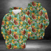 Load image into Gallery viewer, Tropical Pineapple Chicken H227043 - All Over Print Unisex Hoodie