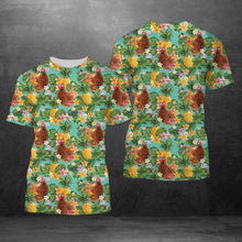Load image into Gallery viewer, Tropical Pineapple Chicken H227044 - Unisex Tshirt 3D