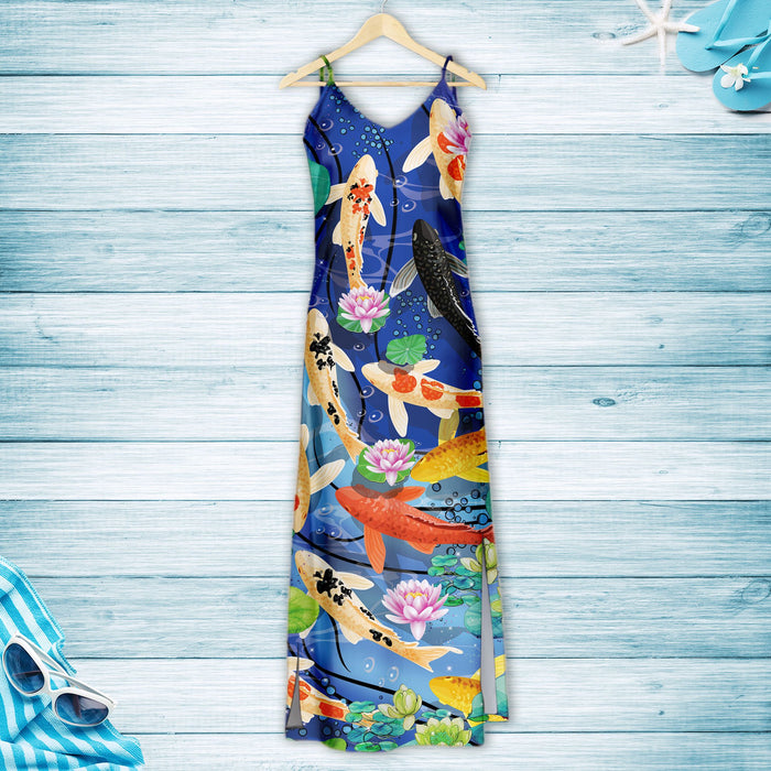 Koi Carp G5723 - Hawaiian Dress