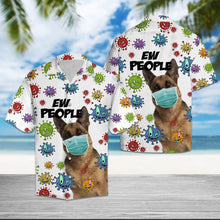 Load image into Gallery viewer, German Shepherd Ew People T2307 - Hawaiian Shirt