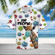 Load image into Gallery viewer, Giraffe Ew People T2307 - Hawaiian Shirt