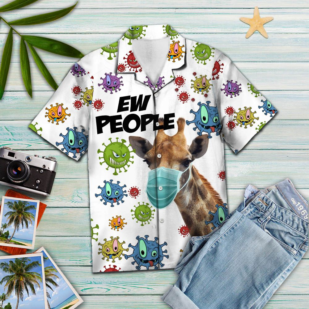 Giraffe Ew People T2307 - Hawaiian Shirt