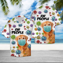 Load image into Gallery viewer, Golden Retriever Ew People T2307 - Hawaiian Shirt