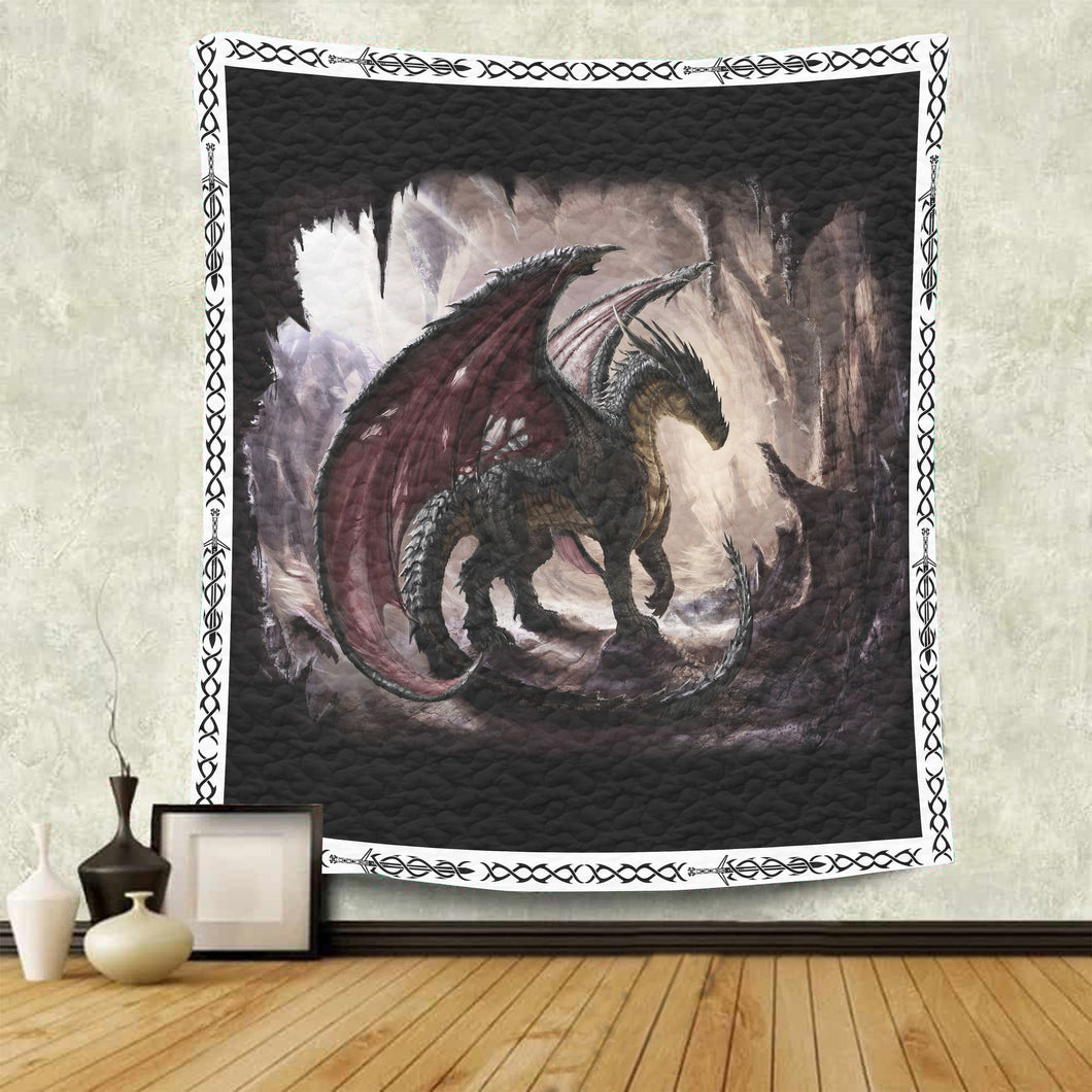 Awesome Dragon G5723 - Quilt Blanket