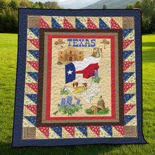 Load image into Gallery viewer, Texas Flag H247034 - Quilt Blanket