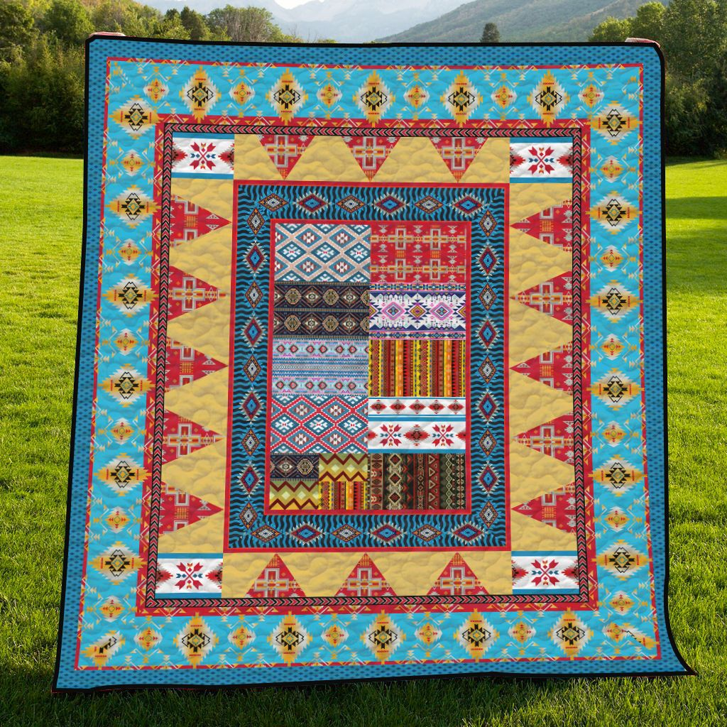 Native American H247033 - Quilt Blanket