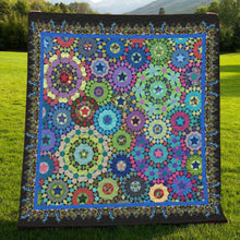Load image into Gallery viewer, Passacaglia Mandala H247045 - Quilt Blanket