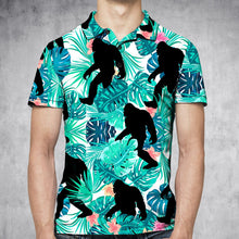 Load image into Gallery viewer, Tropical Bigfoot H27709 - All Over Print Polo Shirt
