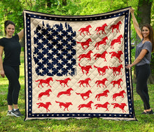 Load image into Gallery viewer, Amazing Horses HT27713 - Quilt Blanket