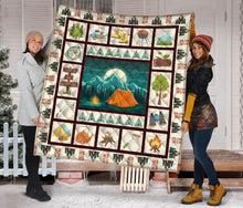 Load image into Gallery viewer, Camping Summer Time TY2907 - Quilt Blanket