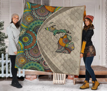 Load image into Gallery viewer, Michigan Mandala H29722 - Quilt Blanket