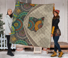 Load image into Gallery viewer, Ohio Mandala H29730 - Quilt Blanket