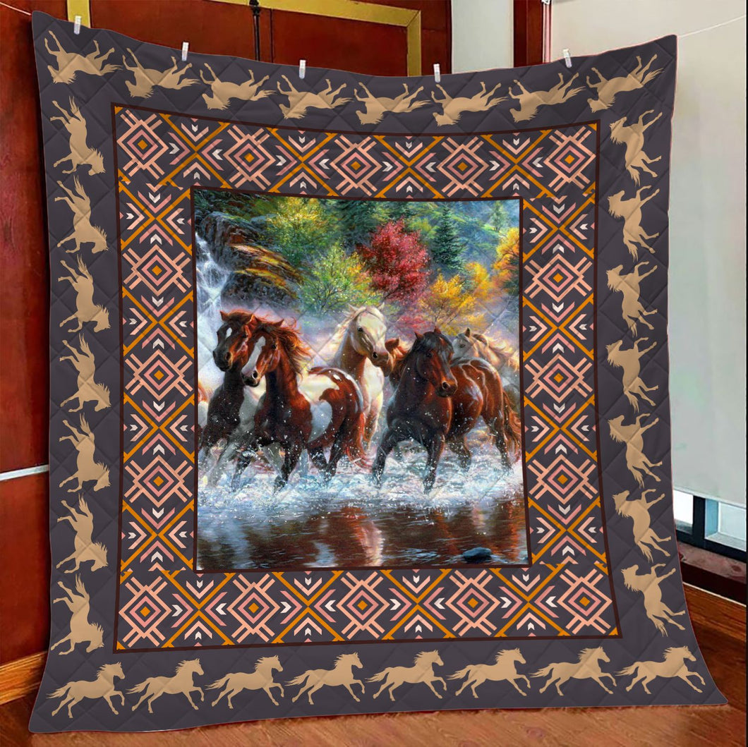 Horse Lovers TY2907 - Quilt Blanket