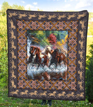 Load image into Gallery viewer, Horse Lovers TY2907 - Quilt Blanket
