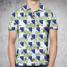 Load image into Gallery viewer, Nevada Singleleaf Pinyon Pine H29737 - All Over Print Polo Shirt