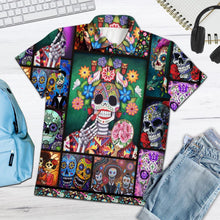 Load image into Gallery viewer, Sugar Skull Make Your Mind Fly H29740 - All Over Print Polo Shirt
