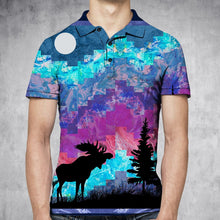 Load image into Gallery viewer, Northern Lights H29741 - All Over Print Polo Shirt