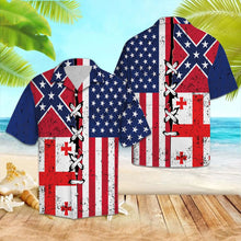 Load image into Gallery viewer, Georgia Confederate USA G5730- Hawaiian Shirt