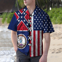 Load image into Gallery viewer, Virginia Confederate USA G5730- Hawaiian Shirt