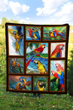 Load image into Gallery viewer, Parrot Summer TY0608 - Quilt Blanket