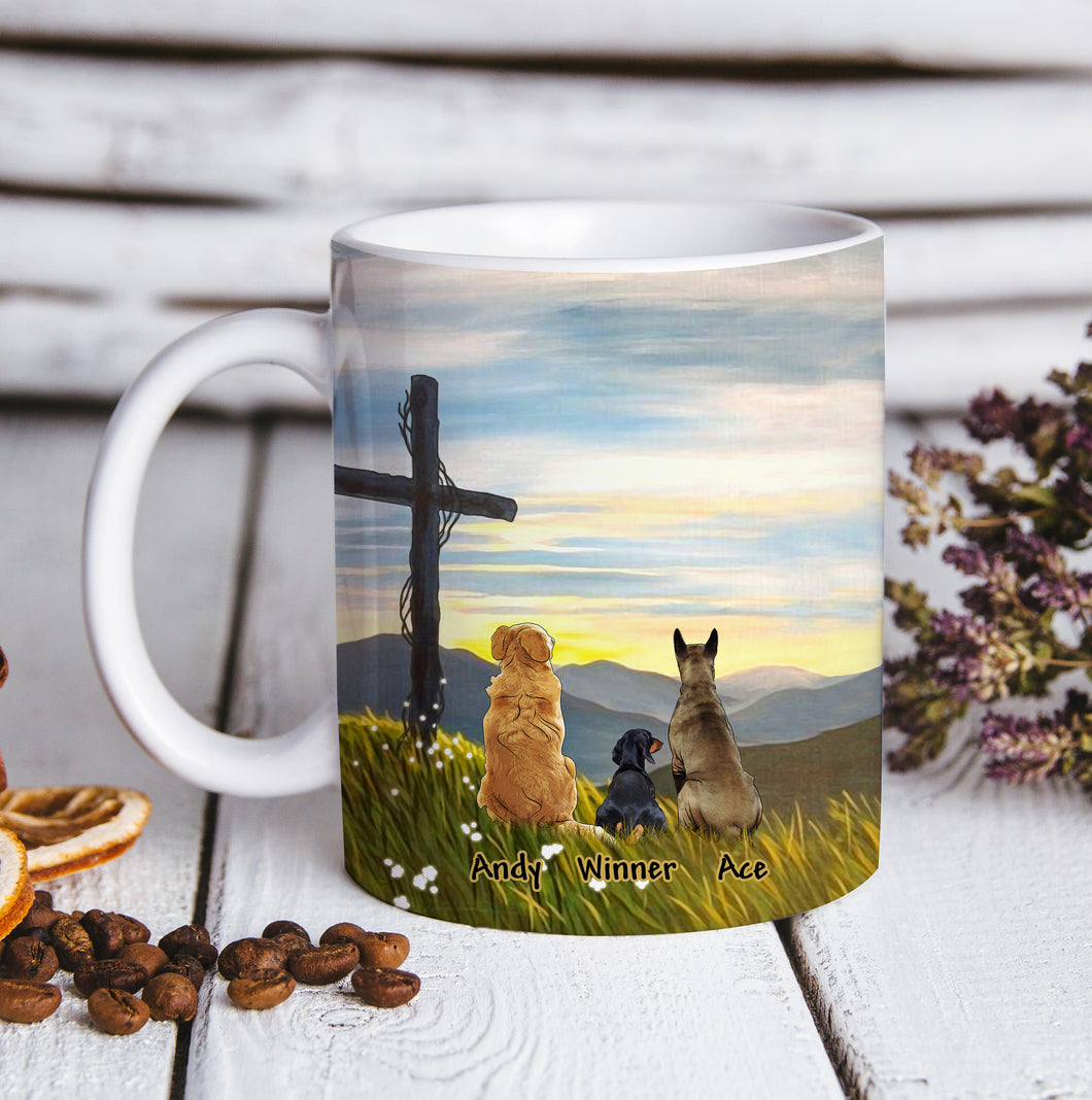 Custom personalized dog coffee mugs gift for dog dad mom pet lovers, dad lovers - Always Believe - PersonalizedWitch