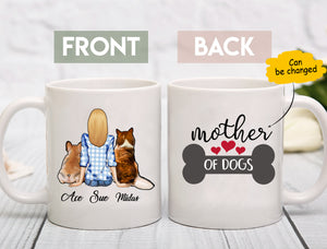 Custom Dog Mug Mother Of Dogs