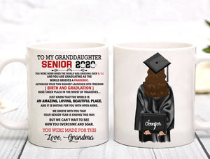 Senior 2020 Mug - Trending custom personalized mug, graduation mug family gift class of 2020