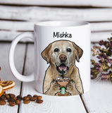 Custom Dogs Mug Labrador Retriever With Coffee Mug