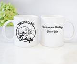 Custom personalized coffee mugs Father's day gifts idea, Christmas, birthday presen - PersonalizedWitch