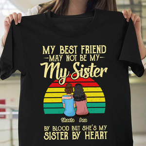 Custom T-shirt My Best Friend In Heart