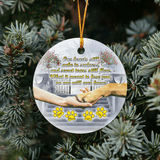 Our heart still ache with sadness HT101218 - Personalized Family Ornament Family Friends Memorial Gift Custom Christmas Accessories