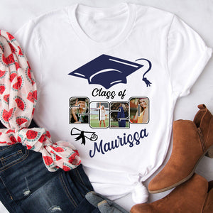 Custom personalized photo graduation tshirt funny gifts for senior, family, best friends & graduated class - Class Of 2020 Graduation - PersonalizedWitch