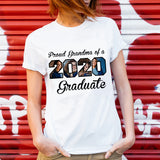 Custom Personalized Photo Grandchildren T Shirts Printing Gift for grandchil with pictures on Graduation day -  Proud Grandma of 2020 Graduate - PersonalizedWitch