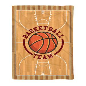 Basketball Team Fleece Blanket