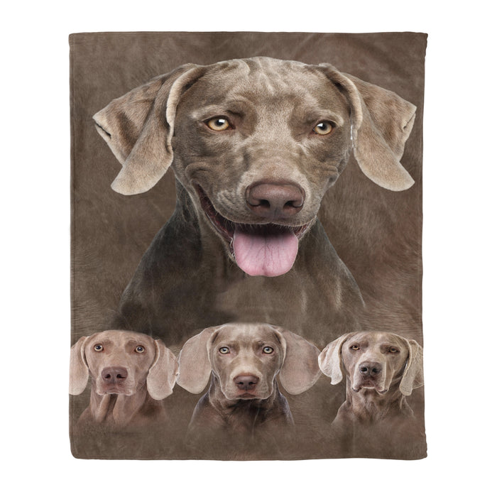 Fleece Blanket Mother's day Father's day unique gift ideas for mom & dad from daughter & son kids, meaningful birthday presents -  Weimareiner Fleece Blanket