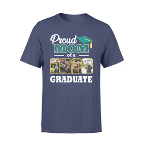 Custom personalized photo graduation tshirt funny gifts for senior, family, best friends & graduated class - Proud Family Of Graduate - PersonalizedWitch