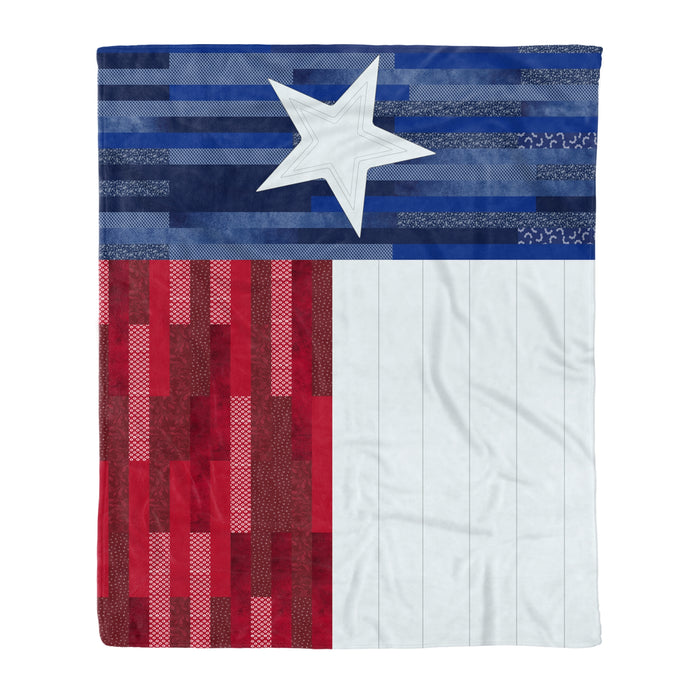 Fleece Blanket Mother's day Father's day unique gift ideas for mom & dad from daughter & son kids, meaningful birthday presents -  Texas Flag Pattern Fleece Blanket