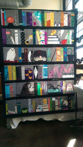 Bookshelf Of Harry - Quilt Blanket