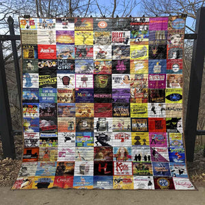Broadway Musical Blanket TR12 - Quilt Blanket
