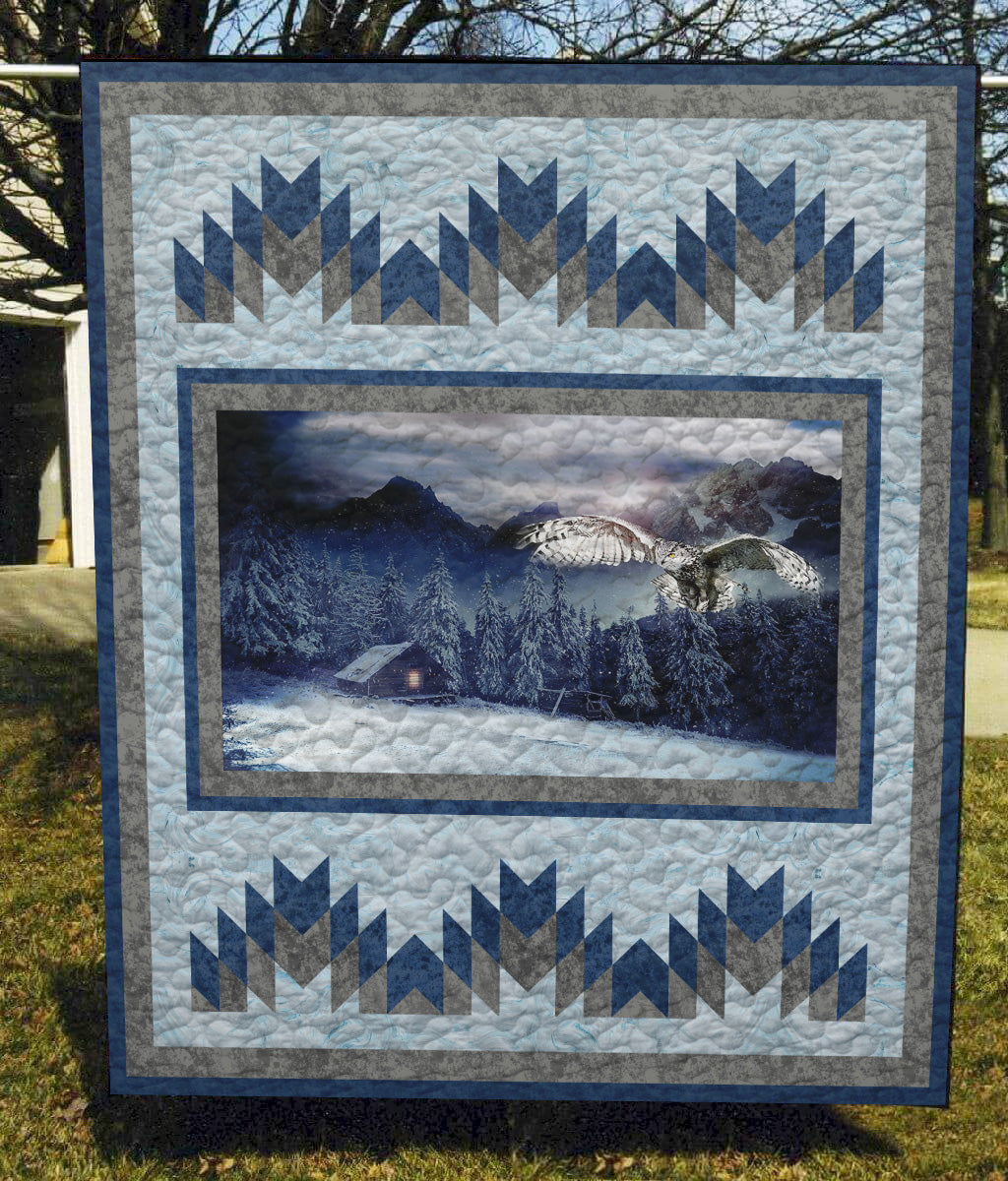 Eagle Cool - Quilt Blanket