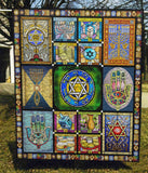 Jewish Features - Quilt Blanket