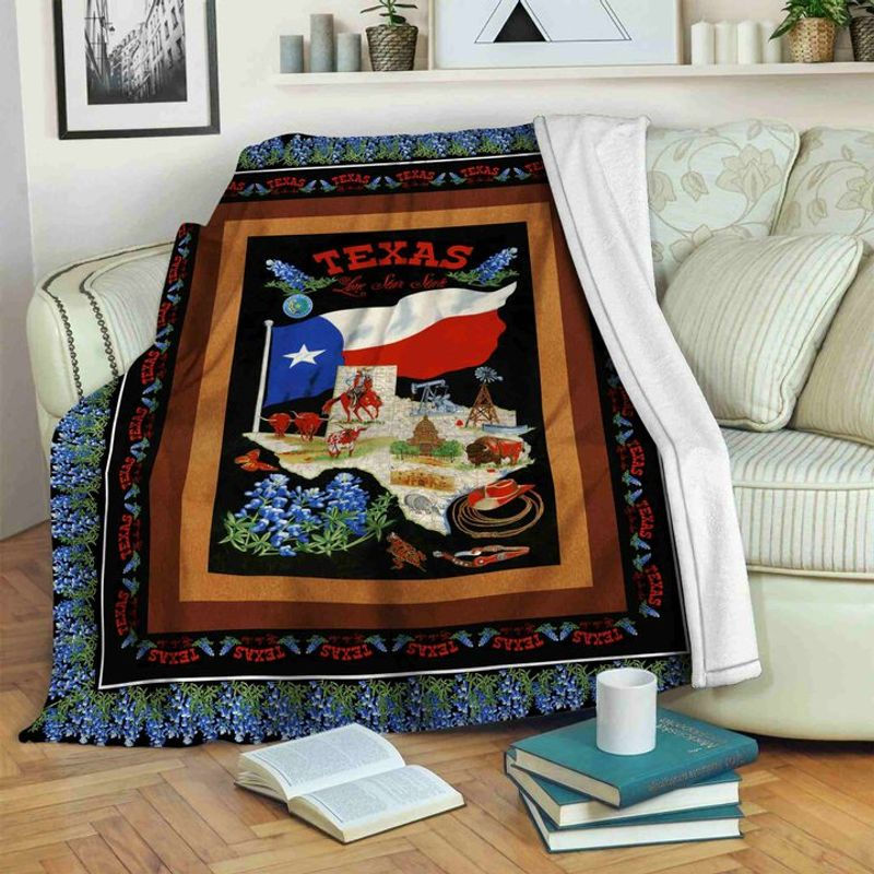 Lone Star Texas - Fleece Blanket