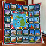 Michigan The State Of Lighthouse Blanket 112