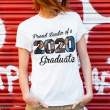 Custom Upload Photo - Proud Leader of 2020 Graduate - Trending custom personalized tee, graduation 2020 gift idea, family gift tee shirt