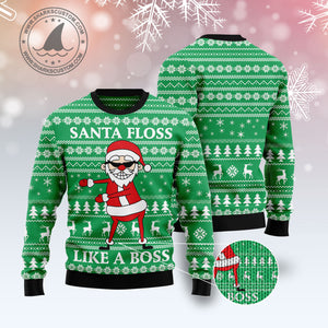 Funny Santa Claus G51019 - Ugly Christmas Sweater